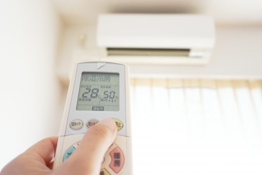 外壁塗装中にエアコンを使用することはできる?