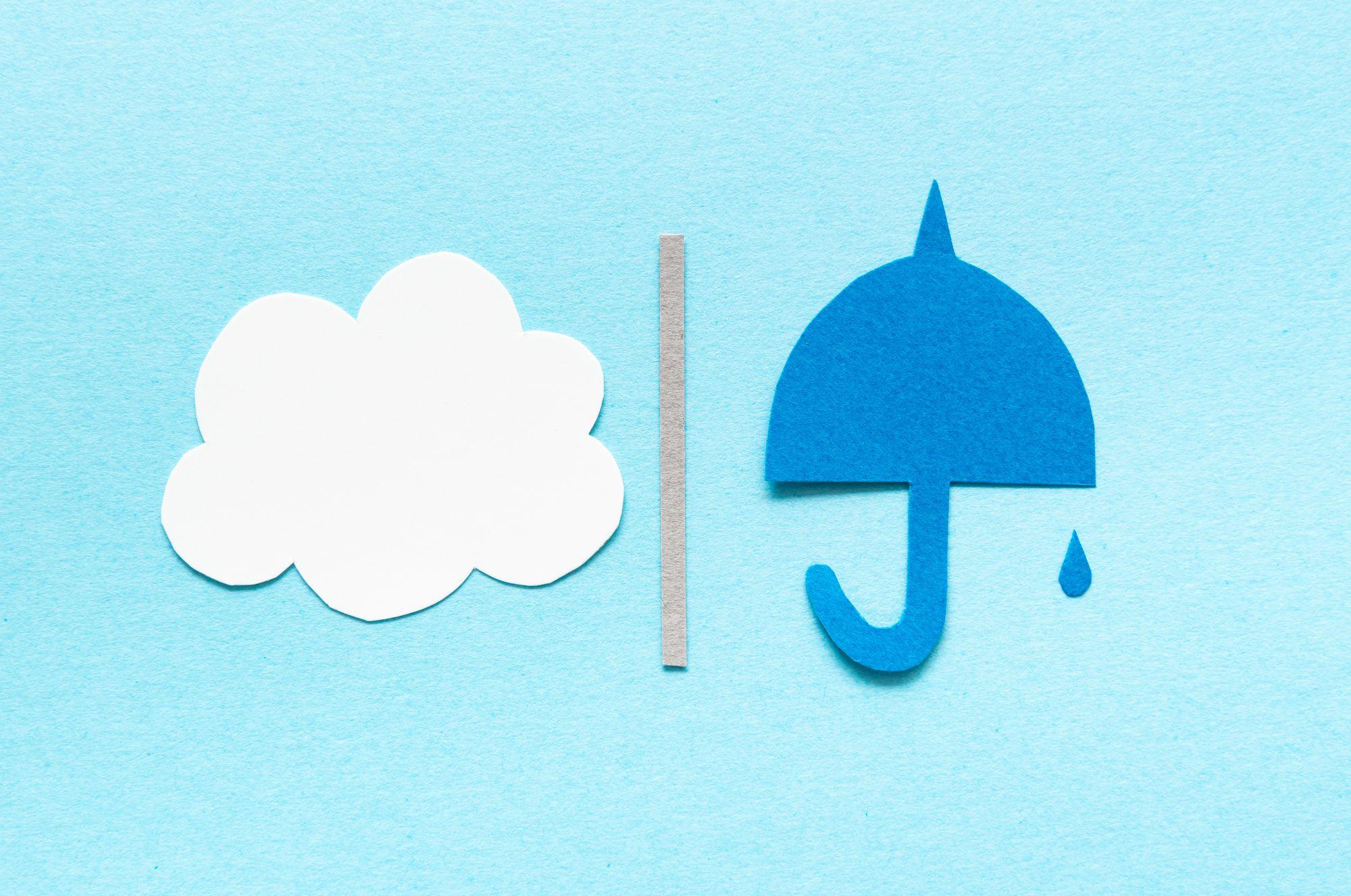 外壁塗装に天候はどのくらい影響される?